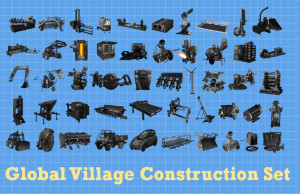50 machines of the Global Village Construction Set.