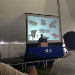 Marcin talks about OSE at the Midwest Renewable Energy Fair.