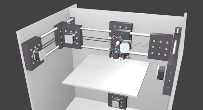 3D Printer Costruction Set Workshop